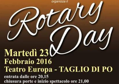 Rotary Day, teatro Europa di Taglio di Po