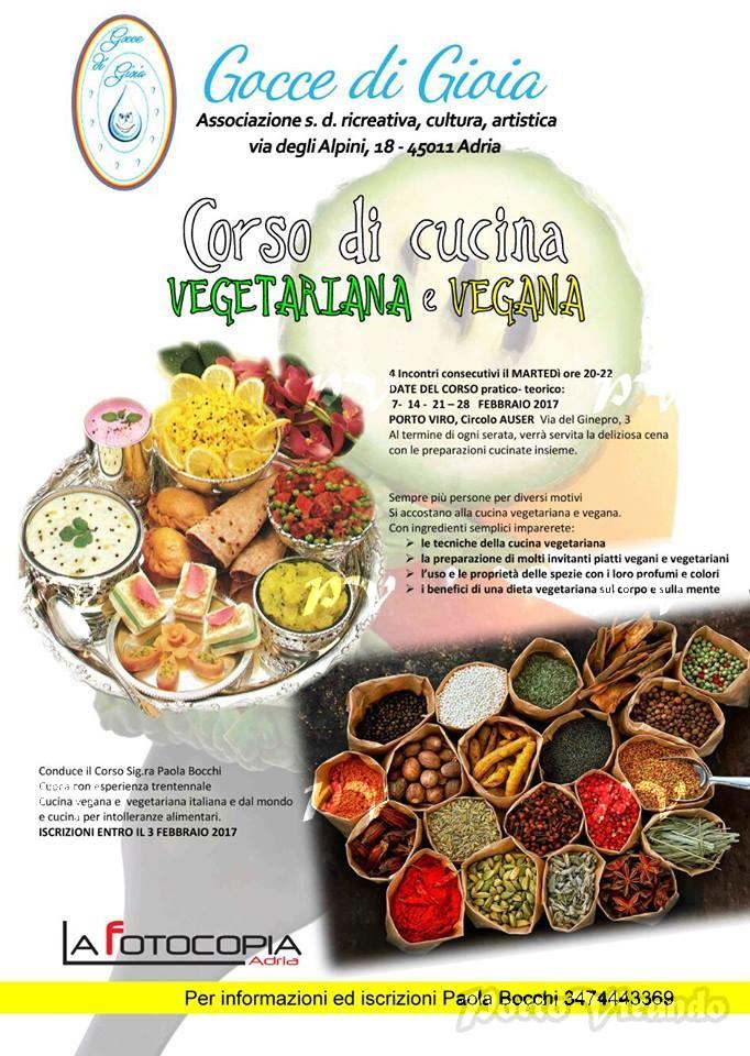 Porto Viro Al Via Il Secondo Corso Di Cucina Vegana E Vegetariana Al Circolo Auser Di Porto Viro Portovirando