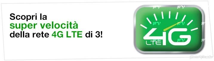 Rete 4g LTE 3